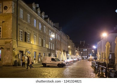 WARSAW, POLAND - October 12th 2018: Historic old town in Warsaw