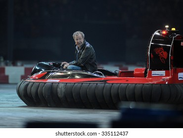WARSAW, POLAND - OCTOBER 24 2015: VERVA Street Racing Special Editiono/p Jeremy Clarkson