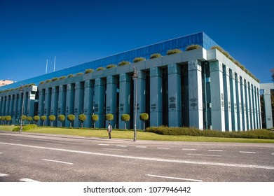 Warsaw, Poland - September 1, 2005: Supreme Court of the Republic of Poland building in Warsaw city