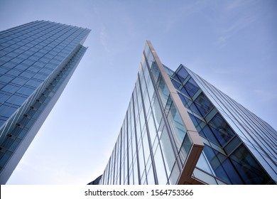 Warsaw, Poland.17 November 2019. Mennica Legacy Tower - an A + class office investment implemented jointly by Golub GetHouse and Mennica Polska