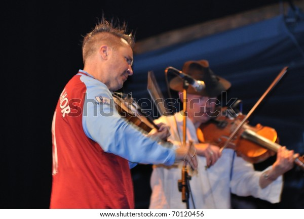 Warsaw September 04 Nigel Kennedy Kroke Stock Photo (Edit