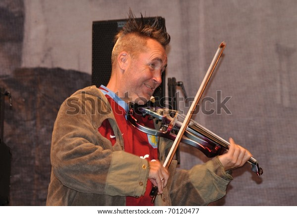 Warsaw September 04 Nigel Kennedy Performs Stock Photo (Edit