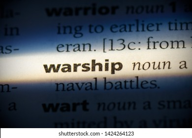 warship word in a dictionary. warship concept, definition.