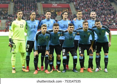 WARSZAWA, POLAND - NOVEMBER 10, 2017: 