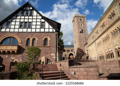 Wartburg castle in Eisenach, Germany