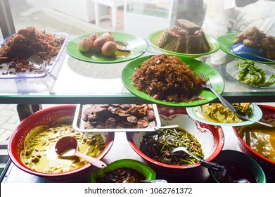 Warung food. Warung is a small Indonesian food stall that functions like a small restaurant