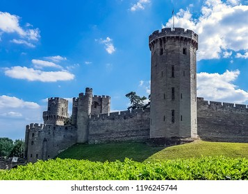 Warwick Castle - Guy's Tower in Warwick,  Warwickshire, United Kingdom on 05 August 2018