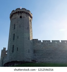 Warwick Castle - Guy's Tower in Warwick, Warwickshire, United Kingdom on 21 October 2018