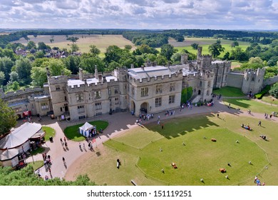 Warwick castle a historic building in the heart of Warwickshire England UK