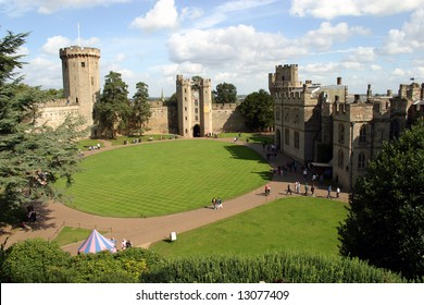 Warwick Castle from the inside (Warwickshire; England)