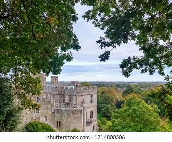 Warwick Castle in Warwick, Warwickshire, United Kingdom on 21 October 2018