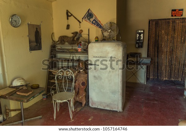 Warzazat Morocco 25032018 Interior Abandoned Gas Stock Photo Edit