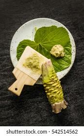 wasabi Japanese horseradish