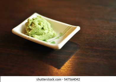 Wasabi with soft focus