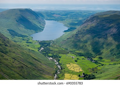 Wasdale from Great Gable, English Lake District