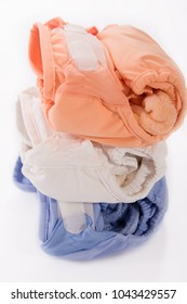 washable reusable cotton bamboo absorbent nappies leak proof over top pants
