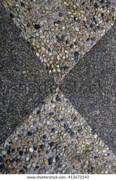 Washed Sand Terrazzo Floor Design Stock Photo Edit Now