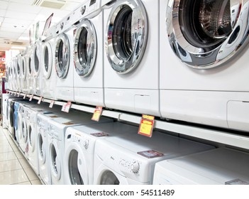 washers in shop