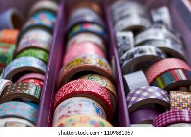 Washi tape case collection catalog