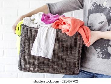 washing household chores