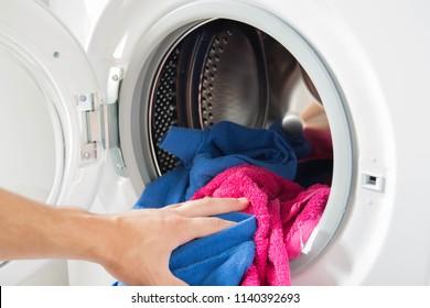 Waschmaschine für Kleidung