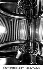 Washing machine drum inside