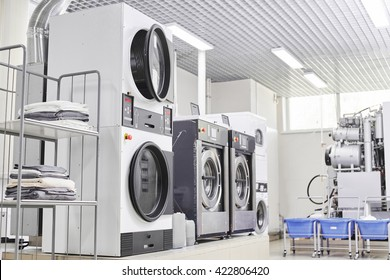 Washing machine in dry cleaning