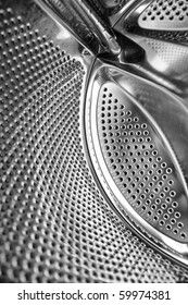 washing machine inside texture