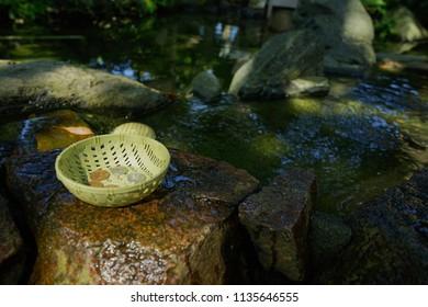 Washing money in Enoshima