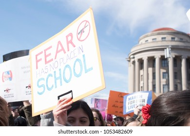 Washingon, DC - March 24, 2018: March for Our Lives