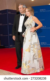 WASHINGTON APRIL 25 Katie Couric and husband John Molner arrive at the White House Correspondents Association Dinner April 25, 2015 in Washington, DC