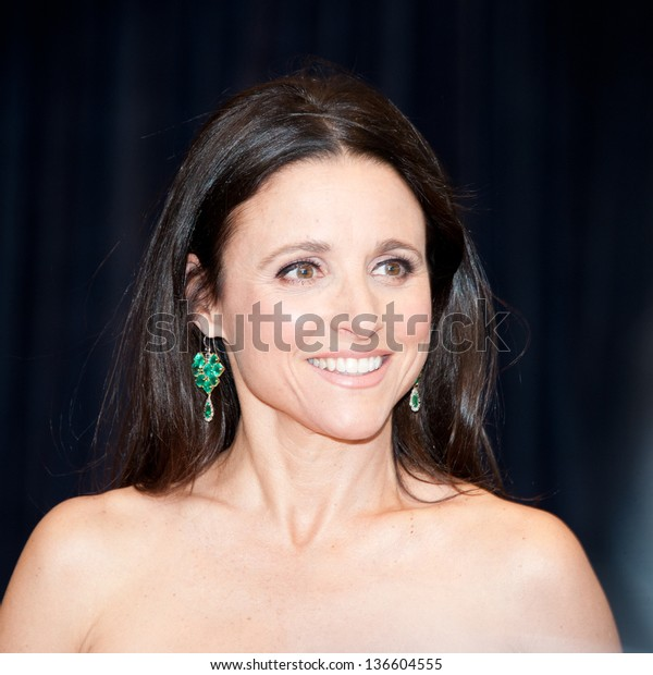 Washington April 27 Julia Louisdreyfus Arrives Stock Photo
