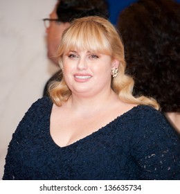 WASHINGTON - April 27: Rebel Wilson arrives at the White House Correspondents Dinner April 27, 2013 in Washington, DC