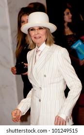 WASHINGTON - APRIL 28: Actress Diane Keaton arrives at the White House Correspondents Dinner April 28, 2012 in Washington, D.C.