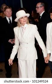 WASHINGTON -- APRIL 28: Actress Diane Keaton arrives at the White House Correspondents Dinner April 28, 2012 in Washington, D.C.