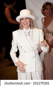 WASHINGTON � APRIL 28: Diane Keaton arrives at the White House Correspondents Dinner April 28, 2012 in Washington, D.C.