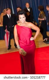 WASHINGTON � APRIL 28: Kiris Jenner arrives at the White House Correspondents� Dinner April 28, 2012 in Washington, D.C.