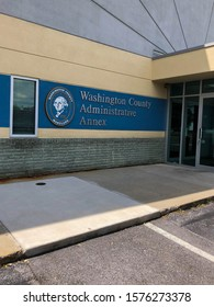 Washington County Administrative Annex photo taken June 26, 2018 in Hagerstown Maryland in the United States.