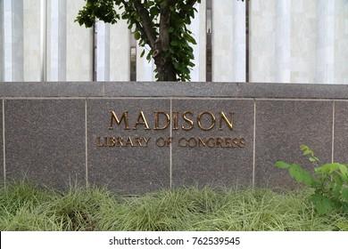 WASHINGTON, DC - 22 JUN: Madison Library of Congress in Washington, DC, the United States on 22 June 2017