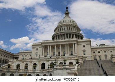 WASHINGTON, DC - 22 JUN: United States Capitol in Washington, DC, the United States on 22 June 2017