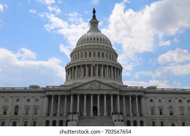 WASHINGTON, DC - 22 JUN: United States Capitol in Washington, DC, the United States on 22 June 2017