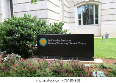 WASHINGTON, DC - 23 JUN: National Museum of Natural History in Washington, DC, the United States on 24 June 2017