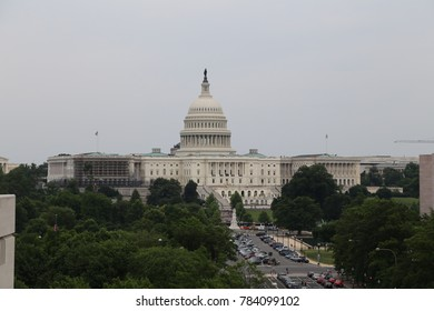 WASHINGTON, DC - 23 JUN: United States Capitol in Washington, DC, the United States on 23 June 2017