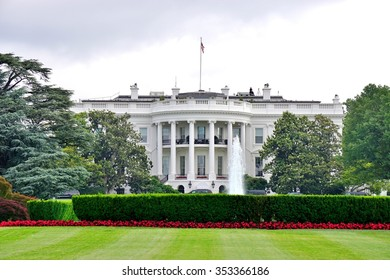 WASHINGTON, DC -25 MAY 2015- The White House in Washington DC is the executive residence of the President of the United States.