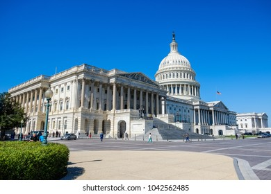 Washington D.C, 3 October 2017 - United States Capitol Building - Washington DC USA
