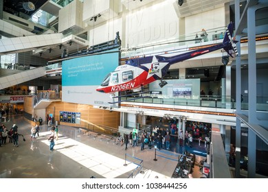 WASHINGTON, DC - 4 MARCH : Newseum in Washington, DC, the United States on 4 March, 2018
