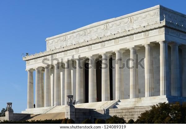 Washington DC - Abraham Lincoln Memorial