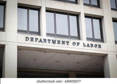 Washington, DC - April 29, 2017: The Senate confirmed Alexander Acosta as the new Department of Labor secretary on April 27.