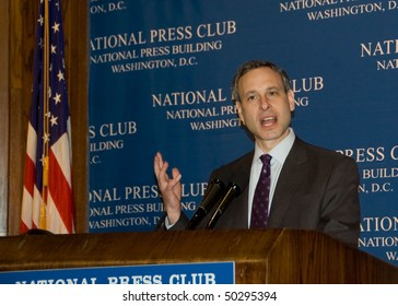 WASHINGTON, DC - APRIL 5: Internal Revenue Service Commissioner Douglas Shulman speaks at a luncheon at the National Press Club, April 5, 2010 in Washington, DC