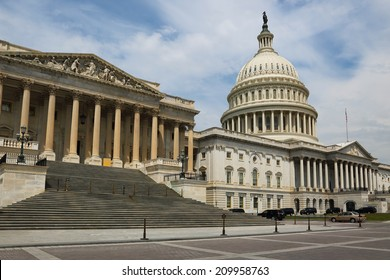 Washington DC, capital city of the United States. National Capitol building.
